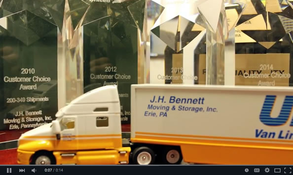 Erie Moving (814) 456-5377 | JHBennett-Moving.com